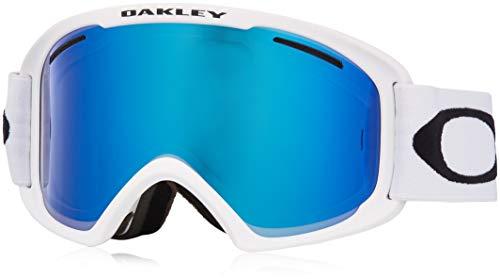 Oakley O Frame 2.0 XL Violet Iridium&Persimmon Skibrille weiß Einheitsgröße