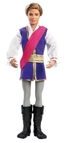 Mattel Barbie X8811 - Die verzauberten Ballettschuhe, Ken als Prinz, Puppe zum Film
