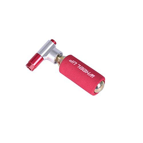 Mini Dual Ventilkopf CO2-Fahrrad-Luftpumpe Mouth Rennräder Air Inflator Kopf Motorradreifen Pumpenventil für WheelUp LUFA
