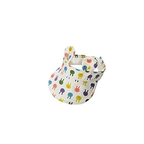 Romote Baby-Kaninchen-Ohr-Kappen Wide Brim Sonnenhut UV Ray Sun-Schutz-Baby-Hut für 0-2 Jahre Alten Kleinkind Kinder Kaninchen-Art-M