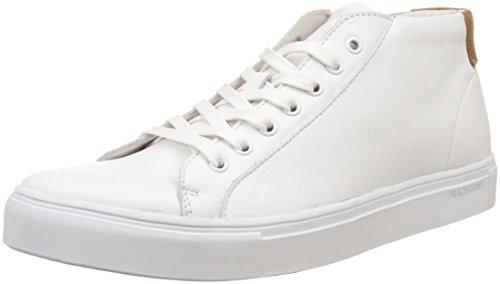 Blackstone Nm04, Sneaker a Collo Alto Uomo Blanc (Whit)