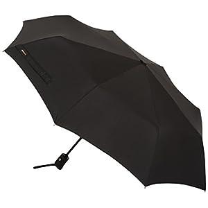 AmazonBasics Umbrella (Auto-Open & Close Function) – Black