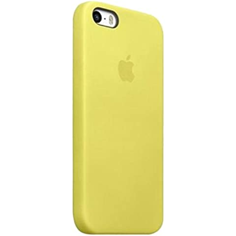 Apple MF043ZM/A - Carcasa para Apple iPhone 5S, amarillo