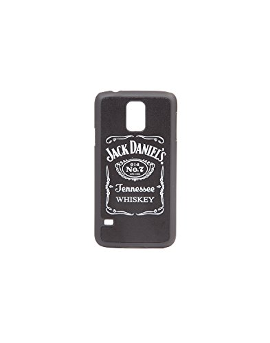 Preisvergleich Produktbild Jack Daniel's Phone Cover leather phone cover for Samsung S5 Black