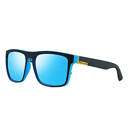 QDE Sonnenbrillen Polarisierte Sonnenbrille Männer Frauen Fahren Shades Männliche Sonnenbrille Für Männer Retro Billig Uv400, A