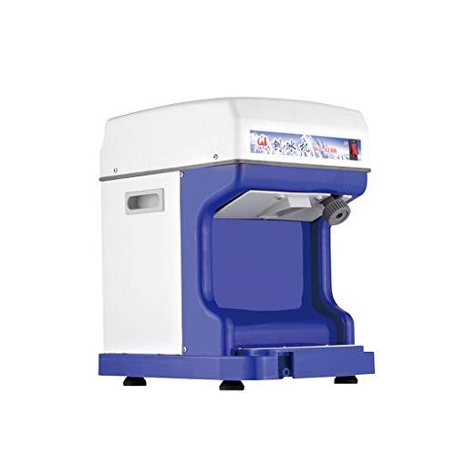 Elektrische Kommerzielle Eismaschine Automatische Sand Eismaschine für Tee Shop Hotel Shop Eiswürfel Einstellbare Dicke -