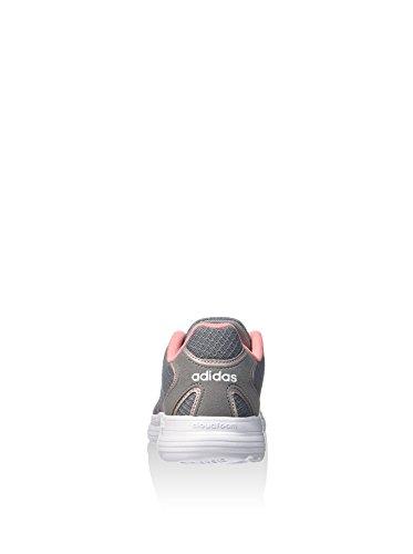 adidas Cloudfoam Speed W, Chaussures de Sport Femme, Rose Gris (Gris / Grmeva / Ftwbla)