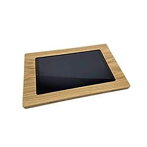 NobleFrames Tablet Wandhalterung für iPad 7 (2019), iPad Air 3 (2019), iPad Pro 10.5 (2017) aus Eiche
