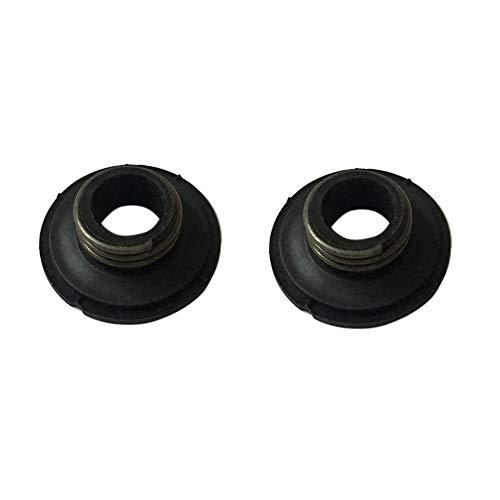 Preisvergleich Produktbild AM 2x Schnecke für Ölpumpe passend Husqvarna 340 345 346XP 350 353 359 445 450 450E Motorsäge Schneckengetriebe Ersetzt 5039318-01