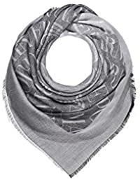 Emporio Armani Sciarpa foulard multicolor logo 635323 9P338 black bbf574a09190