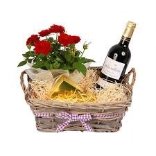 fresh-rose-plant-delivered-in-a-deluxe-basket-red-wine-bordeaux-chocolates-uk-mainland-only