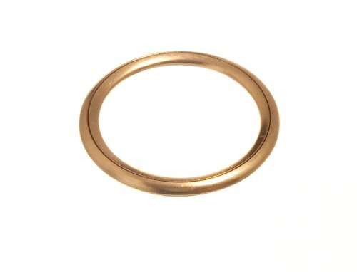 Vorhang Jalousie Polster Ringe Hohl Messing 25mm 0D 20mm ID (Packung mit 12) -