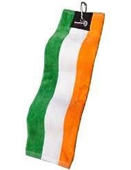 Trifold Golf Bag Towel - Scotland Flag [Garden & Outdoors] Irland