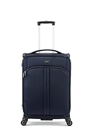 Antler Suitcase Aire 4-Wheel case, Navy, Gross 87 Liters (Internal capacity 70)