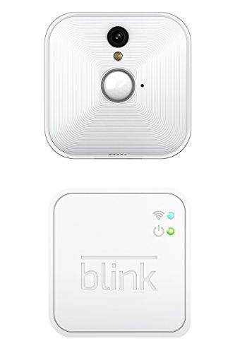 Blink Home Security Kamera-System für Ihr Smartphone mit Bewegungserkennung, HD-Video, 2 Jahre Batterie und Cloud-Speicher enthalten - 1 Kamerasatz