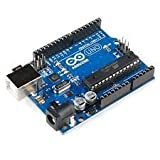 #1: Uno R3 ATmega328P with USB Cable length 1 feet, Compatible with ATMEGA16U2 Arduino (Color may vary)