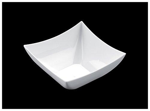 Gold Plast-Carrée-COUPELLE 25 par paquet 72x72 mm blanc