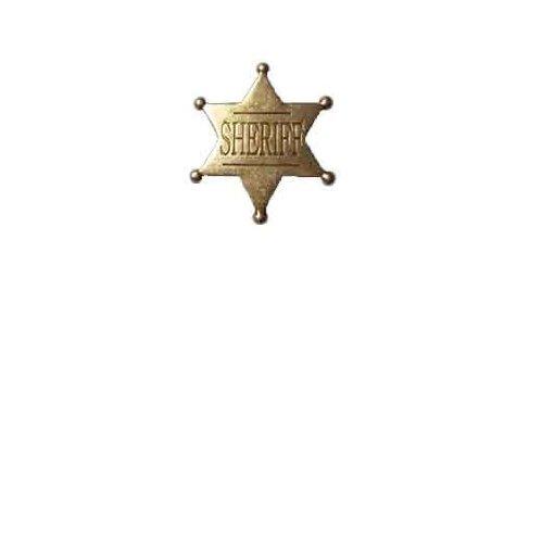Abzeichen Sheriff Stern