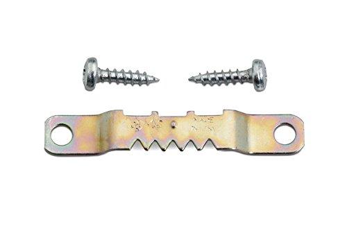 Zackenaufhänger für Holzrahmen 10 Stück mit Schrauben