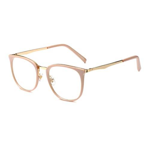 DAIYO Männer und Frauen Vintage Optische Gläser Einfarbig Bedrucktes Metall Runde Vollformat Brillen Für Kleines Gesicht