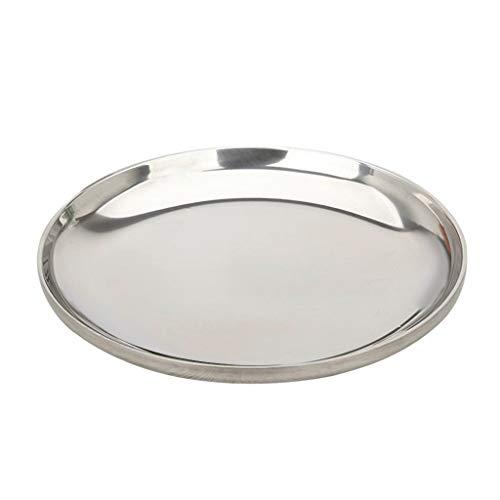 Fenteer Plat de Service Planche Décoratif Cuisine Accessoire Durable Lavable - L