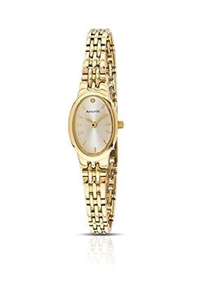 Accelerated Development LB1336G - Reloj de cuarzo para mujer, con correa de acero inoxidable, color dorado de Accelerated Development