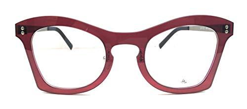 H52 rote ultradünne Brille
