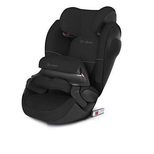 Preisvergleich Produktbild Cybex Silver Pallas M-fix SL, Autositz Gruppe 1/2/3 (9-36 kg), mit Isofix, Kollektion 2018, Pure Black