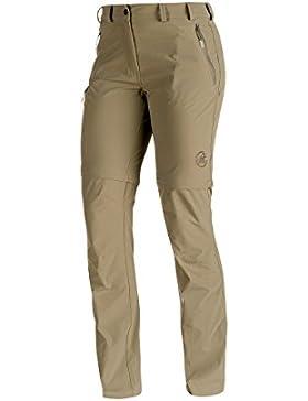 Mammut, runje Zip Off Pantaloni da trekking, Donna, Runje Zip Off, dolomite, 44