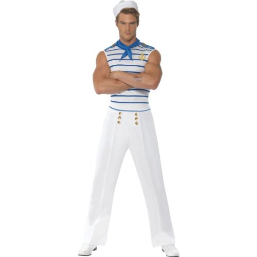 Gemz Fancy Kleid Fever männlich French Sailor (Sailor Männlich Kostüme)