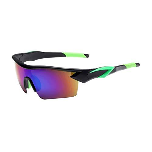 Gafas de Sol Deportivas con Lentes Polarizadas y Espejo para Ciclismo MTB Running -Gafas de Bicicleta UV 400 con Lentes, adecuadas para Ciclismo Gafas béisbol Pesca esquí Correr Conducir Gafas
