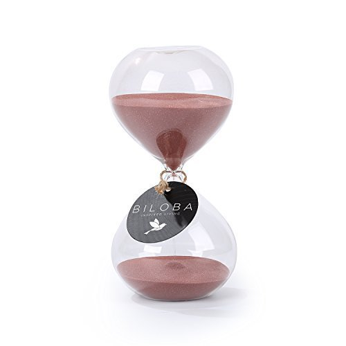 biloba-48-inch-puff-sand-timer-hourglass-30-minutes-cocoa-color-sand-inspired-glass-home-desk-office
