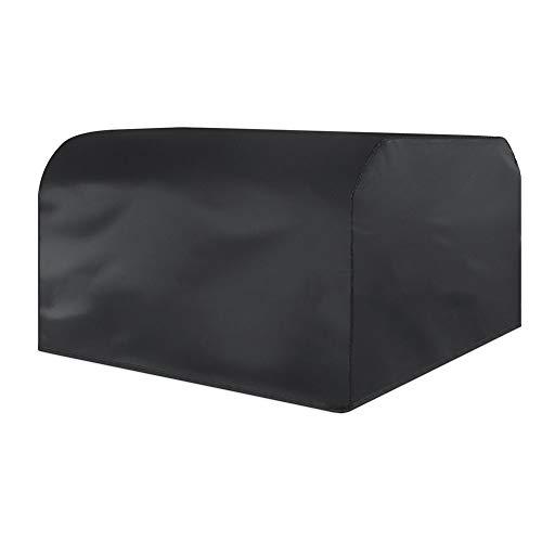 KXBYMX Mobilier d'extérieur anti-poussière housse de protection étanche écran solaire anti-pluie Bâche imperméable de haute qualité (Couleur : NOIR, taille : 250x250x90cm)