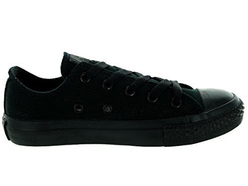 Converse Chuck Taylor All Star Wash Neon Ox, Baskets mode mixte enfant Nero (Black Mono)
