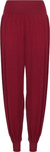 WearAll - Pantalon 'harem' bouffant - Pantalons - Femmes - Tailles 36 à 42 Vin