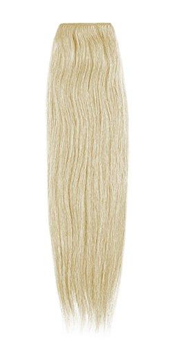American Dream 100% Echthaar Tresse, inch-14/100g, 22Beach Blonde - Echthaar Nähen 100 Extensions