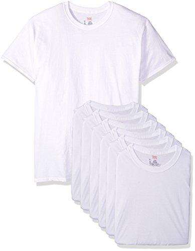Hanes Herren T-Shirt Weiß