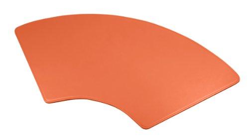 Lucrin - Sottomano a mezzaluna 70x32cm - Vacchetta liscia - Pelle - Giallo Arancione Lugares Baratos Venta De Salida Venta Elección Grandes Ofertas En Línea Ebay Para La Venta wLZU8x0lEO