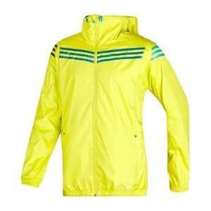 Adidas SF 3S wbreaker Veste de produits d'entraînement pour homme, couleur noir M vert