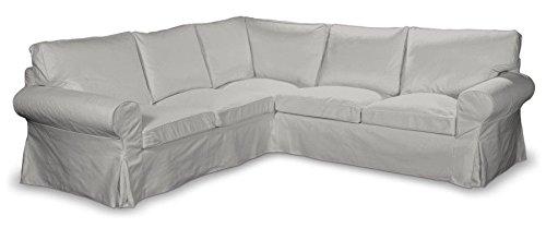 Franc-textil 640–705–90ektorp divano angolare, etna, colore grigio chiaro