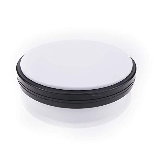 Base girevole elettrica 15cm bianco