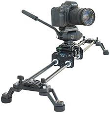 FILMCITY Video Camera smooth Slider Dolly rail For DSLR DV Nikon Sony Canon (SL-3)