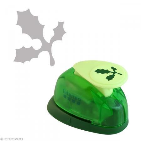 Artemio 1,6 cm Tama Peque Holly Perforadora, Verde