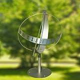 Gartentraum Edelstahl Globus Sonnenuhr - Sonnenuhr Globus, Edelstahl