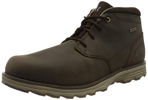 Caterpillar Elude Wp Botas Chukka Hombre, Marrón Dark Brown, 40 EU