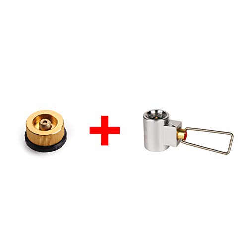 DECHO-C Ventilkartusche Gaskonverter Shifter Refill Adapter + Gas Kartuschenkopf Adapter