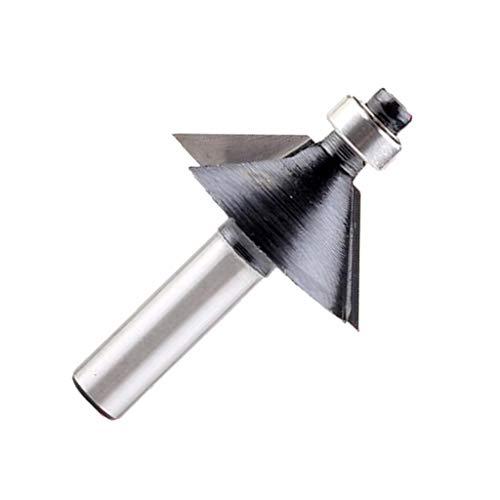 Profi Profilfräser Fasefräser Hartmetallfräser Holzschneider Konturfräser, 8 mm Schaft