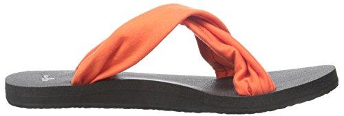 Sanuk Womens Yoga X-Hale Flip Flop Flame