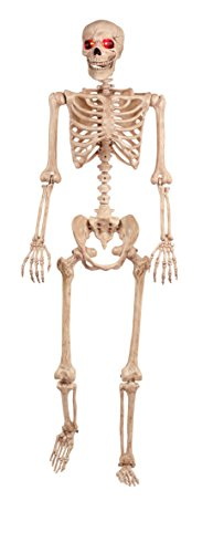 Crazy Bonez Light Up pose-n-stay Skelett
