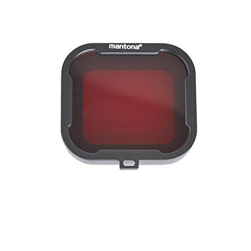 Herramienta indispensable para fotos de colores óptimo, incluso durante el buceo estos affixable filtros por mantona son una herramienta indispensable para utilizando una cámara GoPro Hero o otros similares cámaras de acción submarina.